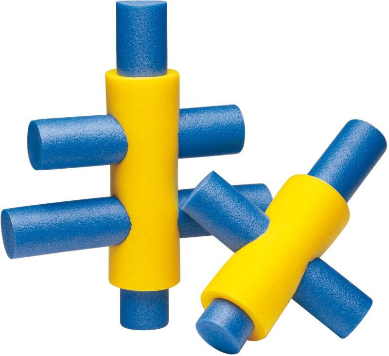 pool noodle connector schwimmnudel verbindung