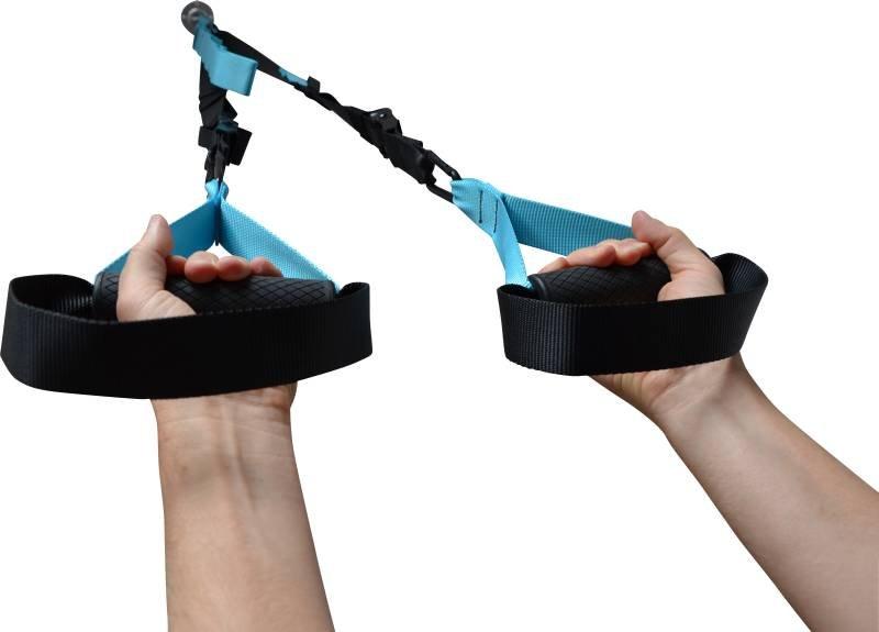 schlingentrainer mit umlenkrolle oder ohne