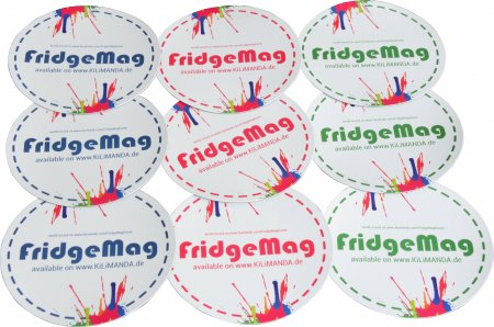 FridgeMag 2-0, 3 Magnete